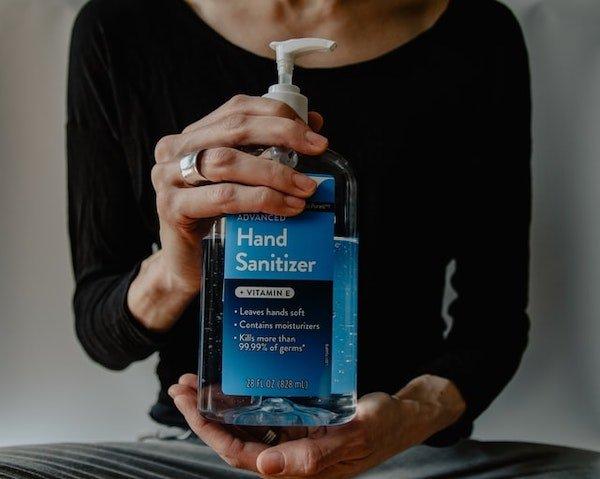 Covid at work hand sanitizer